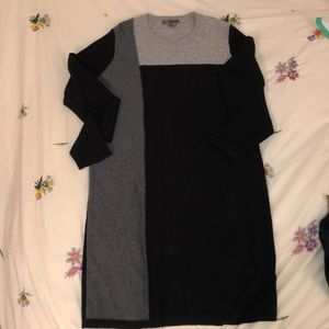 VINCE cashmere sweater dress